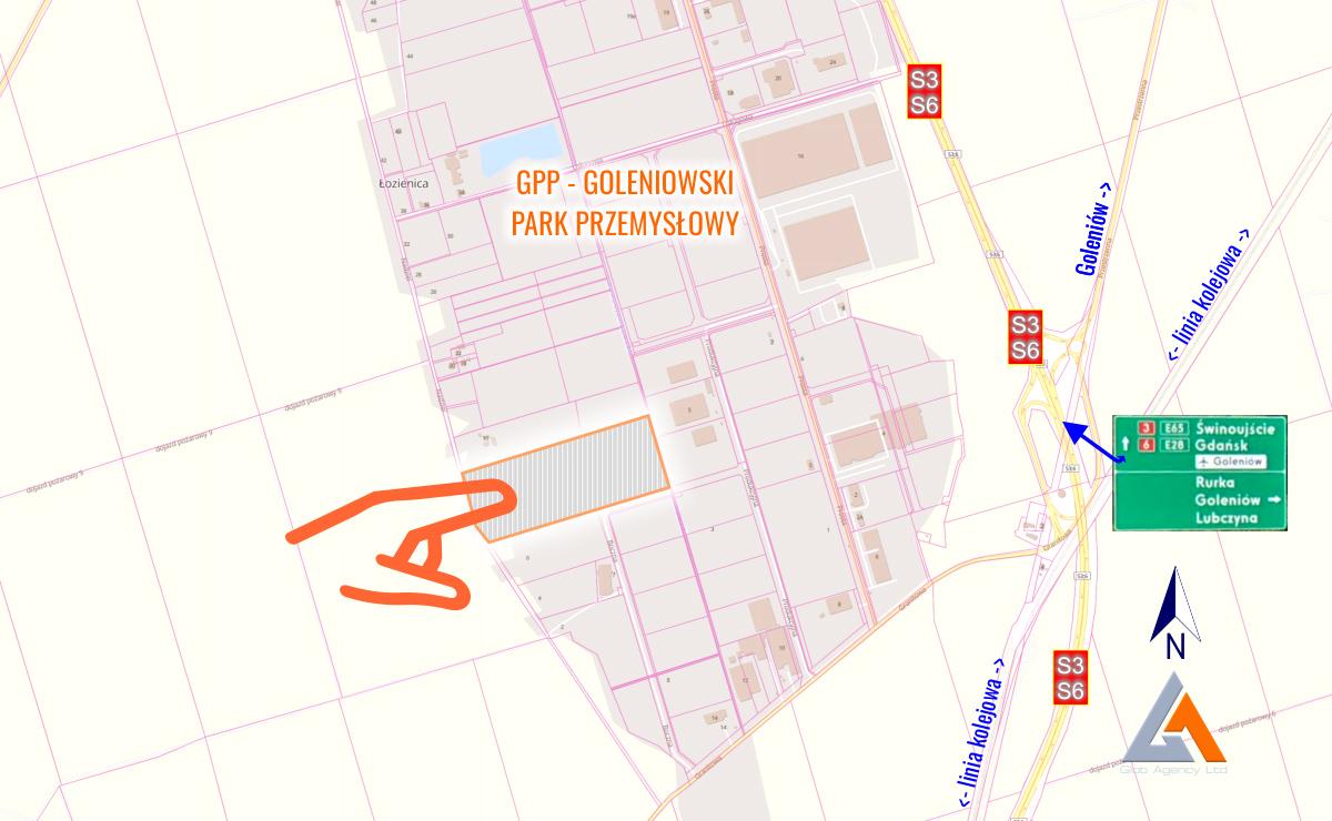 Lokalizacja i uwarunkowania działek