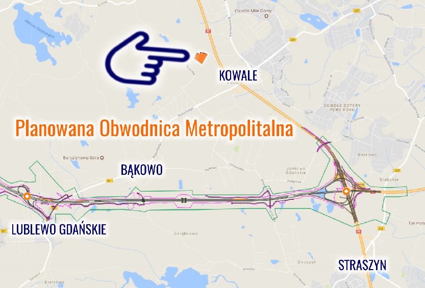Planned Metropolitan Bypass of Tricity