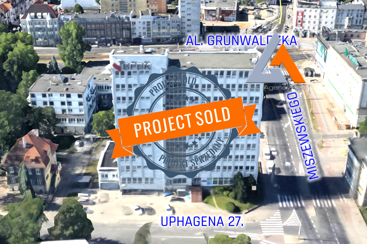 SOLD:  Working Office Building with Tenants !!!<br/> GDANSK: CENTRUM (Gdansk Wrzeszcz) /Poland